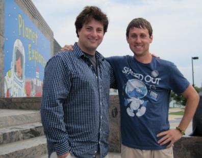 Nick Sagan and Tom Ruginis